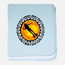 SCUBA baby blanket