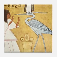 Cute Ramesses Tile Coaster