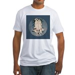 English Setter Puppy Fitted T-Shirt