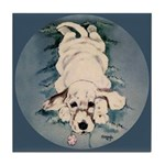 English Setter Puppy Tile Coaster