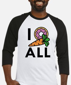 I Donut Carrot All Baseball Jersey