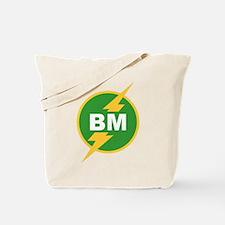 BM Best Man Tote Bag