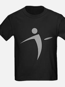 Nano Disc Golf GRAY Logo T-Shirt