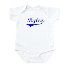 Rylee Vintage (Blue) Infant Bodysuit