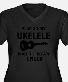 Ukulele designs Plus Size T-Shirt