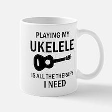 Ukulele designs Mugs