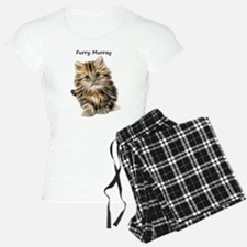 Kitten Furry Murray pajamas