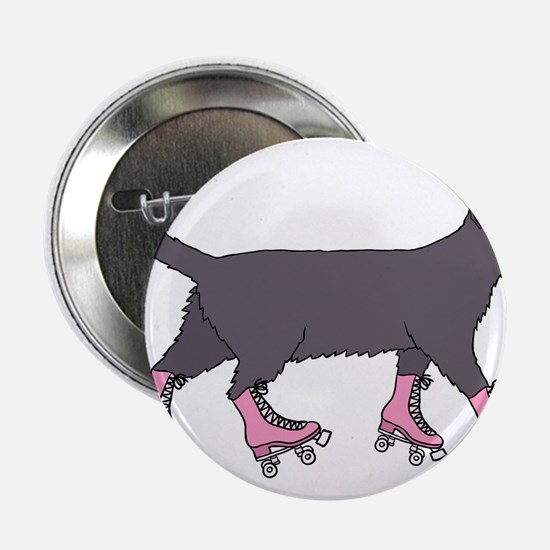 """Cat Roller Skating 2.25"""" Button (10 pack)"""