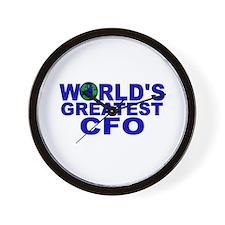 World's Greatest CFO Wall Clock