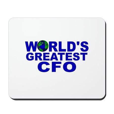 World's Greatest CFO Mousepad