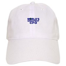 World's Greatest CFO Baseball Cap