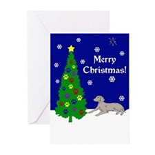 Weimaraner Christmas Greeting Cards (Pk of 10)