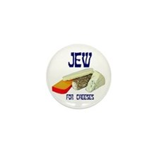 jew for cheeses Mini Button (10 pack)