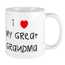 I love my great grandma Mug