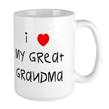 I love my great grandma Mug