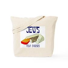 jews four cheeses Tote Bag