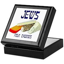 jews four cheeses Keepsake Box