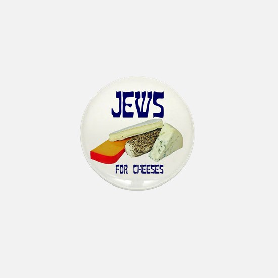 jews for cheeses Mini Button
