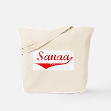 Sanaa Vintage (Red) Tote Bag