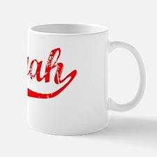Saniyah Vintage (Red) Mug