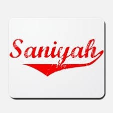 Saniyah Vintage (Red) Mousepad