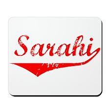 Sarahi Vintage (Red) Mousepad