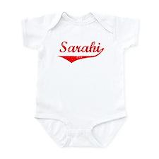Sarahi Vintage (Red) Infant Bodysuit