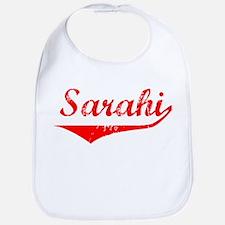 Sarahi Vintage (Red) Bib