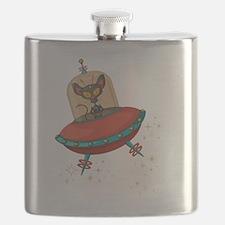 Cute Alien Flask