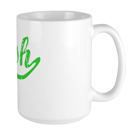 Trish Vintage (Green) Large Mug