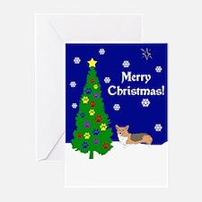 Welsh Corgi Christmas Greeting Cards (Pk of 10)