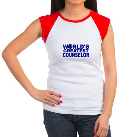 World's Greatest Counselor Women's Cap Sleeve T-Sh