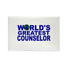 World's Greatest Counselor Rectangle Magnet