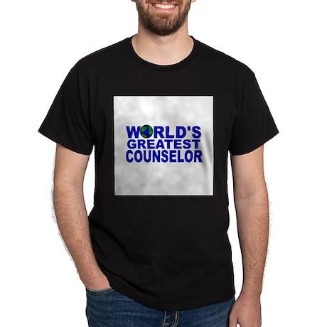 World's Greatest Counselor Dark T-Shirt