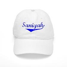 Saniyah Vintage (Blue) Baseball Cap