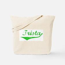 Trista Vintage (Green) Tote Bag
