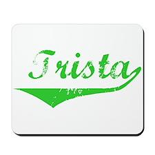 Trista Vintage (Green) Mousepad