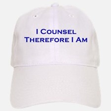 I Counsel Therefore I Am Baseball Baseball Cap