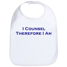 I Counsel Therefore I Am Bib