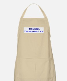 I Counsel Therefore I Am BBQ Apron