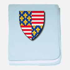 Charles Martel - Coat of Arms baby blanket