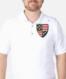 Charles Martel - Coat of Arms T-Shirt