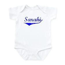 Sarahi Vintage (Blue) Infant Bodysuit