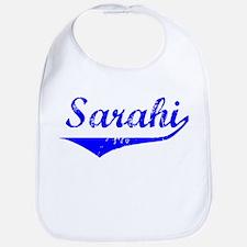 Sarahi Vintage (Blue) Bib