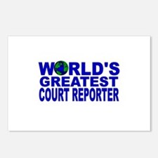 World's Greatest Court Report Postcards (Package o