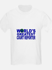 World's Greatest Court Report T-Shirt