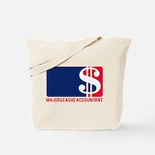 Major League Accountant Tote Bag