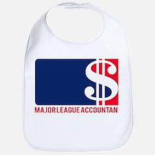 Major League Accountant Bib