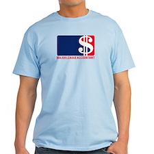 Major League Accountant T-Shirt