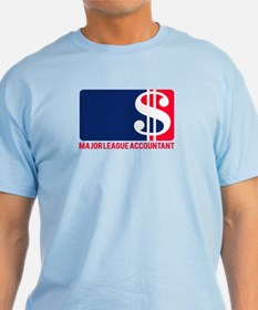 Major League Accountant T-Shirt